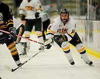 30 December 2007: University of Vermont Catamounts' forward Brian Roloff, a Sophomore from West Seneca, NY, in action against the Quinnipiac University Bobcats at Gutterson Fieldhouse in Burlington, Vermont. The Bobcats defeated the Catamounts 4-1 to win the Sheraton/TD Banknorth Catamount Cup Tournament...Mandatory Photo Credit: Ed Wolfstein Photo