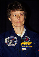 Montreal (Qc) CANADA, 1992 File Photo -<br /> <br /> Canadian Astronaut Dr. Roberta Bondar.<br /> <br /> 1992 file photo - The world's first female Canadian astronaut and neurologist in space, Dr. Roberta Bondar is globally recognized for her contributions to space medicine. She continued her discoveries for more than a decade, finding new connections between recovering from new environments and neurological illnesses such as stroke and Parkinson's disease.<br /> <br /> photo : (c) images Distribution