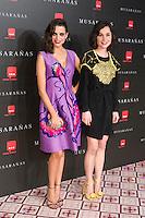 "Nadia Santiago and Macarena Gomez attend the Premiere of the movie ""Musaranas"" in Madrid, Spain. December 17, 2014. (ALTERPHOTOS/Carlos Dafonte) /NortePhoto /NortePhoto.com"
