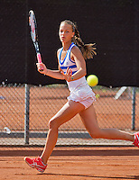08-08-13, Netherlands, Rotterdam,  TV Victoria, Tennis, NJK 2013, National Junior Tennis Championships 2013, Sem Wensveen  <br /> <br /> <br /> Photo: Henk Koster