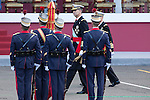 King Felipe VI of Spain during Spanish National Day military parade in Madrid, Spain. October 12, 2015. (ALTERPHOTOS/Pool)