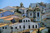 Pelhourinho, Salvador, Bahia State, Brazil. Colonial buildings.