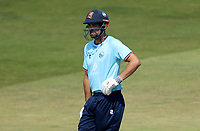 Sir Alastair Cook of Essex leans on his bat during Essex Eagles vs Cambridgeshire CCC, Domestic One-Day Cricket Match at The Cloudfm County Ground on 20th July 2021
