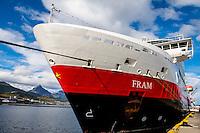 Argentina, Ushuaia, Antarctica expedition aboard the Hurtigruten FRAM ship.