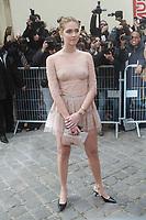 Chiara Ferragni - ArrivÈes au dÈfilÈ 'Dior' au MusÈe Rodin lors de la Fashion Week de Paris, le 03/03/2017. # LES PEOPLE ARRIVENT AU DEFILE 'DIOR' - FASHION WEEK DE PARIS