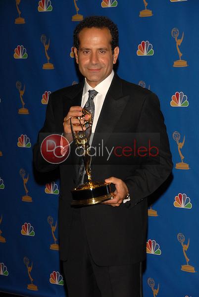 Tony Shalhoub<br />in the Press Room at the 58th Annual Primetime Emmy Awards. The Shrine Auditorium, Los Angeles, CA. 08-27-06<br />Scott Kirkland/DailyCeleb.com 818-249-4998