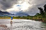 Rio Malleo in Patagonia