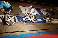 Madison World Champion Albert Torres (ESP)<br /> <br /> Ghent 6 - day 1