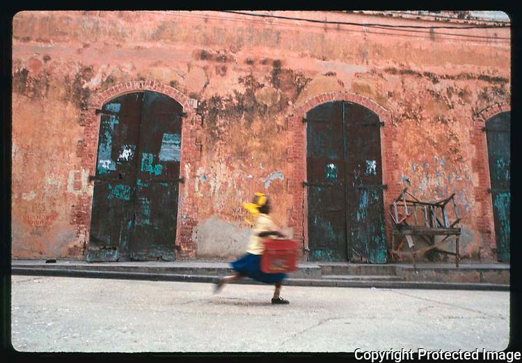 School Girl, Haiti