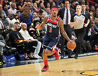 Bradley Beal (G, Washington Wizards, #3) - 22.01.2020: Miami Heat vs. Washington Wizards, American Airlines Arena