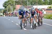 Tim Merlier (BEL/Alpecin-Fenix) up front in the first echelon<br /> <br /> Grote Prijs Marcel Kint 2021<br /> One day race from Zwevegem to Kortrijk (196km)<br /> <br /> ©kramon