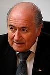Joseph Sepp Blatter alla Gazzetta dello Sport Milano