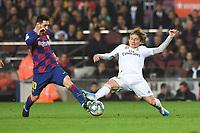 Lionel Messi, Luka Modric <br /> <br /> 18/12/2019 <br /> Barcelona - Real Madrid<br /> Calcio La Liga 2019/2020 <br /> Photo Paco Largo Panoramic/insidefoto <br /> ITALY ONLY