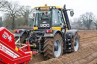 Dean Bartram Agricultural Contrctor destoning for onion sets - Norfolk, February