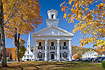 Autumn in Newfane, VT, USA