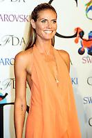NEW YORK CITY, NY, USA - JUNE 02: Heidi Klum arrives at the 2014 CFDA Fashion Awards held at Alice Tully Hall, Lincoln Center on June 2, 2014 in New York City, New York, United States. (Photo by Celebrity Monitor)