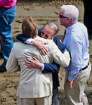 August 29, 2015 : Conections celebrate after Unbridled Forever, ridden by John Velazquez, wins the Ballerina Stakes on Travers Stakes Day at Saratoga Race Course in Saratoga Springs, NY. Scott Serio/ESW/CSM