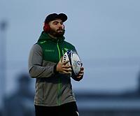 20th December 2020; The Sportsground, Galway, Connacht, Ireland; European Champions Cup Rugby, Connacht versus Bristol Bears; Sammy Arnold (Connacht) pictured ahead of kick off