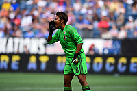 Seattle, WA - Thursday July 27, 2017: Ayaka Yamashita during a 2017 Tournament of Nations match between the women's national teams of the Japan (JAP) and Brazil (BRA) at CenturyLink Field.
