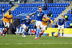 St Johnstone v Motherwell…21.11.20   McDiarmid Park      SPFL<br />Stevie May scores his penalty to make it 1-1<br />Picture by Graeme Hart.<br />Copyright Perthshire Picture Agency<br />Tel: 01738 623350  Mobile: 07990 594431