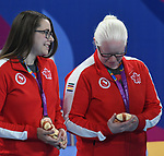 Amy Burk and Emma Reinke, Lima 2019 - Goalball.<br />