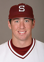 STANFORD, CA - JANUARY 7:  Adam Gaylord of the Stanford Cardinal baseball team poses for a headshot on January 7, 2009 in Stanford, California.