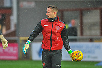 Fleetwood Town's goalkeeper Alex Cairns (1) during the Sky Bet League 1 match between Fleetwood Town and Burton Albion at Highbury Stadium, Fleetwood, England on 15 December 2018. Photo by Stephen Buckley / PRiME Media Images.