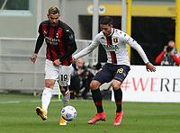 Milano  18-04-2021<br /> Stadio Giuseppe Meazza<br /> Serie A  Tim 2020/21<br /> Milan Genoa<br /> Nella foto: Theo Hernandez                                     <br /> Antonio Saia Kines Milano