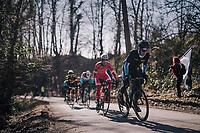 Ben Perry (CAN/Israel Cycling Academy)<br /> <br /> 70th Kuurne-Brussel-Kuurne 2018<br /> Kuurne › Kuurne: 200km (BELGIUM)