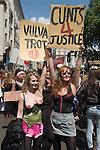 Slut Walk London UK . June 11 2011.