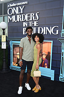 """NEW YORK CITY - AUG 24: Erica Lall attends the screening of Hulu's """"Only Murders in the Building"""" at The Greens at Pier 17 on August 24, 2021 in New York City. (Photo by Frank Micelotta/Hulu/PictureGroup)"""