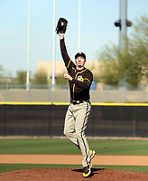 Blake Snell - San Diego Padres 2021 spring training (Bill Mitchell)