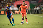 Liverpool FC forward Roberto Firmino in action during the Premier League Asia Trophy match between Liverpool FC and Crystal Palace FC at Hong Kong Stadium on 19 July 2017, in Hong Kong, China. Photo by Weixiang Lim / Power Sport Images