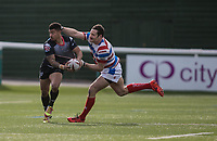 Kieran Dixon during the Kingstone Press Championship match between London Broncos and Rochdale Hornets at Castle Bar , West Ealing , England  on 26 March 2017. Photo by Steve Ball / PRiME Media Images.