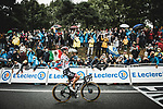 Austrian Champion Patrick Konrad (AUT) Bora-Hansgrohe wins solo Stage 16 of the 2021 Tour de France, running 169km from Pas de la Case to Saint-Gaudens, France. 13th July 2021.  <br /> Picture: A.S.O./Pauline Ballet   Cyclefile<br /> <br /> All photos usage must carry mandatory copyright credit (© Cyclefile   A.S.O./Pauline Ballet)