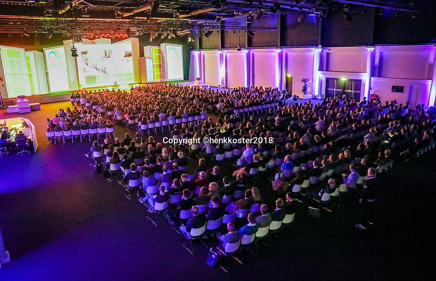 Nieuwegein,  Netherlands, 24 November 2018, KNLTB Year congress KNLTB<br /> Photo: Tennisimages.com/Henk Koster