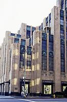 Los Angeles:  Eastern Columbia Building, 849 S. Broadway.  Claude Beelman 1929.  Photo Dec. 1987.
