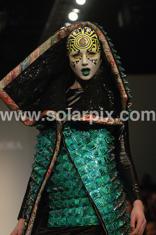 **ALL ROUND PICTURES FROM SOLARPIX.COM**.**WORLDWIDE SYNDICATION RIGHTS**.The Manish Arora Fashion show in held in London yesterday for London fashion week..JOB REF:3357      FMF           DATE:12_02_07.**MUST CREDIT SOLARPIX.COM OR DOUBLE FEE WILL BE CHARGED**