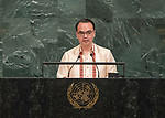 72 General Debate – 23rd of September  2017<br /> <br /> H.E. Alan Peter CAYETANO<br /> <br /> Secretary for Foreign Affairs of the<br /> PHILIPPINES