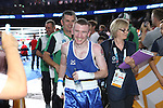 Glasgow 2014 Commonwealth Games<br /> <br /> Paddy Barnes (Northern Ireland) leaves the ring after winning gold.<br /> <br /> 02.08.14<br /> ©Steve Pope-SPORTINGWALES