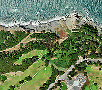 aerial photo map of Presidio, San Francisco, California. Please note this image is available for license up to a maximum size of 528 x 465 pixels and not recommended for prints. We can provide a similar view from other, higher resolution imagery, if you need this or a similar view to use at larger sizes or for prints. Please contact us in that case.