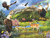 Lori, LANDSCAPES, LANDSCHAFTEN, PAISAJES, paintings+++++Eagle Valley_Sunsout_Oct_2019_10in_72,USLS176,#l#, EVERYDAY ,puzzle,puzzles