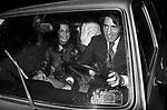WALTER CHIARI CON FRANCESCA GUIDATO<br /> FESTA CRISTIANO MALGIOGLIO - OPEN GATE  ROMA 1981