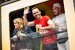 © Joel Goodman - 07973 332324 . 29/08/2015 . Manchester , UK . Coronation Street float . Manchester Gay Pride parade through Manchester City Centre . Photo credit : Joel Goodman