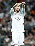 Real Madrid's Sergio Ramos during Champions League 2014/2015 Semi-finals 2nd leg match.May 13,2015. (ALTERPHOTOS/Acero)