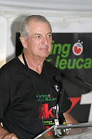 June 15 2004, Montreal (Quebec) CANADA<br /> Laurent Beaudoin, CEO Bombardier Recreaional Product (BRP)take part in  karting event to benefit LEUCAN, near Montreal, June 15 2004<br /> Photo (c) 2004, Pierre Roussel / Images Distribution