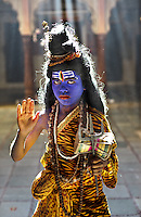 Rajasthan, India, Sadhu.