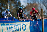 Annemarie Worst (NED/777) leading the race<br /> <br /> Koppenbergcross 2020 (BEL)<br /> women's race<br /> <br /> ©kramon