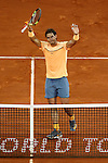 Rafael Nadal, Spain, during Madrid Open Tennis 2016 match.May, 5, 2016.(ALTERPHOTOS/Acero)
