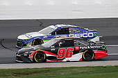 #96: Daniel Suarez, Gaunt Brothers Racing, Genuine Parts & Service Toyota Camry, #13: Ty Dillon, Germain Racing, GEICO Chevrolet Camaro